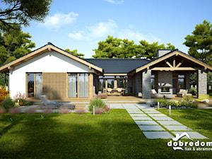 Nowe trendy - domy z zadaszonym tarasem