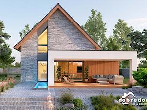 Projekt domu z poddaszem i dużymi skosami – jak urządzić wnętrze?