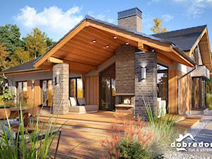 Domy z tarasem w roli głównej – projekty Arizona III, Judyta II i Nevada