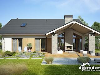 Projekt domu Judyta wraz z wizualizacją wnętrz