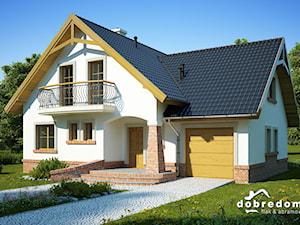 Projekt domu Tuliusz wraz z wizualizacją wnętrz