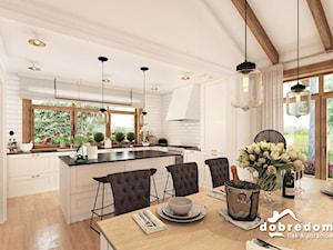 Projekt domu Dakota V z wizualizacją wnętrz