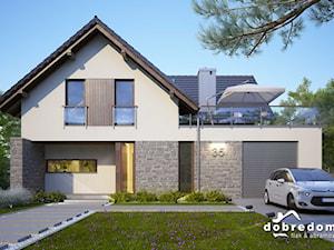 Projekt domu Ina z wizualizacją wnętrz