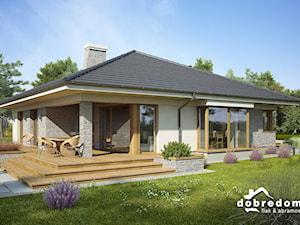 Nowoczesne projekty domów parterowych – znajdź funkcjonalną przestrzeń dla cztero- lub pięcioosobowej rodziny