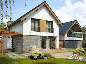 Elegancki dom dla nowoczesnej rodziny – Projekt Malachit