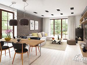 Projekt Domu Bella z wizualizacją wnętrz