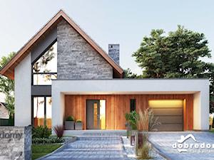 Marika – nowoczesny projekt domu z poddaszem użytkowym