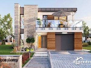 Projekt domu Akira – reprezentatywny, intrygujący, nowoczesny