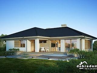 Projekt domu Julia z wizualizacją wnętrz