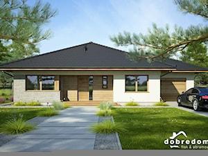 Projekt domu Fabia II wraz z wizualizacją wnętrz