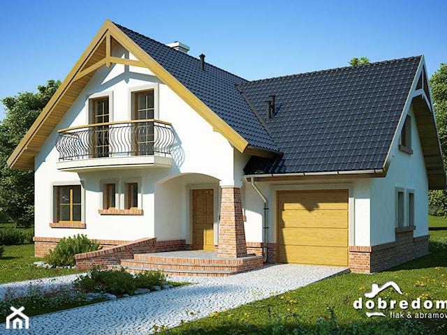 Projekt domu Tuliusz wraz z wizualizacją zdjęć