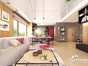 Projekt domu Moira wraz z wizualizacją wnętrz