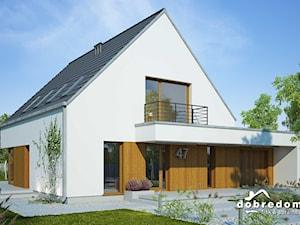 Projekt domu Oktawian II z wizualizacją wnętrz
