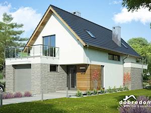 Projekt domu Ida z wizualizacją wnętrz