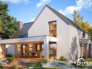Projekt Domu Amber – duża przestrzeń w klasycznej oprawie