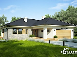 Projekt domu Oceania wraz z wizualizacjami wnętrz