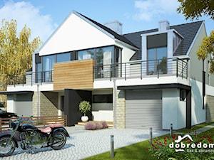 Projekt domu Ofelia wraz z wizualizacją wnętrz