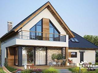 Projekty domów z tarasem