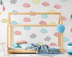 Naklejki+%C5%9Bcienne+pastelowe+chmurki+do+pokoju+dziecka+-+zdj%C4%99cie+od+Jazami