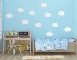 Naklejki ścienne chmurki do pokoju dziecka - zdjęcie od Jazami
