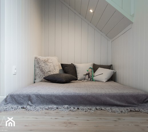 Projekt Szczyrk Mała Biała Sypialnia Małżeńska Na Poddaszu