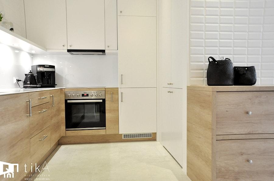Projekt Bielsko Biała  Mała otwarta kuchnia, styl