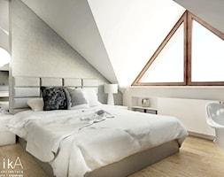 Sypialnia styl Nowoczesny - zdjęcie od TIKA Architektura wnętrz i krajobrazu