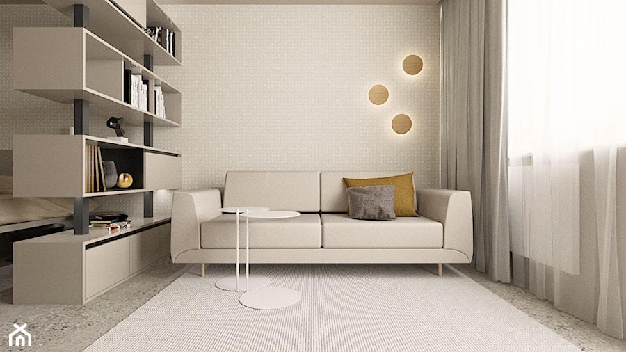 Projekt salonu - zdjęcie od TIKA DESIGN