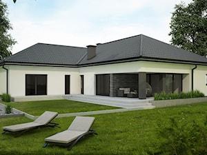 przestronny nowoczesny dom