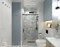 Projekt łazienki w stylu współczesnym - zdjęcie od Senkoart Design - Homebook