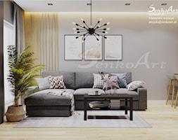 Aranżacja Salonu w Domu Jednorodzinnym - zdjęcie od Senkoart Design - Homebook