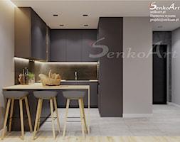 Projekt Kuchni Nowoczesnej w Domu Jednorodzinnym - zdjęcie od Senkoart Design - Homebook