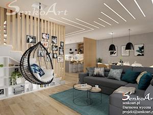 Projekty Salonu zapojektowane przez Senkoart Design