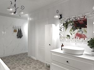 Aranżacja łazienki (Wizualizacja 3D)