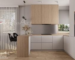 Projekt kuchni w domu jednorodzinnym - zdjęcie od Senkoart Design - Homebook