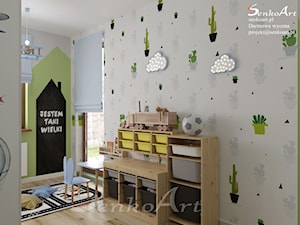Projekt pokoju dziecięcego dla czteroletniego chłopca