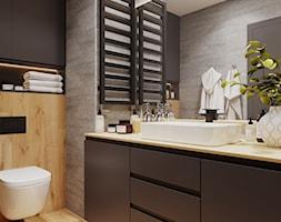 Projekt łazienki w nowoczesnym stylu - zdjęcie od Senkoart Design - Homebook