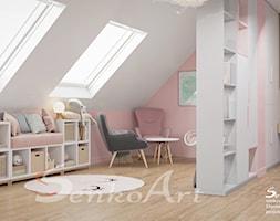 Pokój dla dziewczynki w różowym kolorze - zdjęcie od Senkoart Design - Homebook