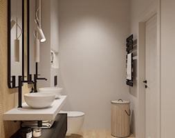 Aranżacja łazienki nowoczesnej - zdjęcie od Senkoart Design - Homebook
