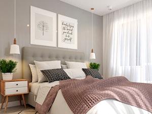 Sypialnia w stylu skandynawskim2 - zdjęcie od Senkoart Design