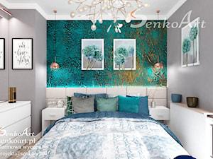 Sypialnia glamour (Nowoczesna)