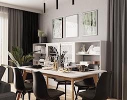 Aranżacja salonu w nowoczesnym stylu - zdjęcie od Senkoart Design - Homebook