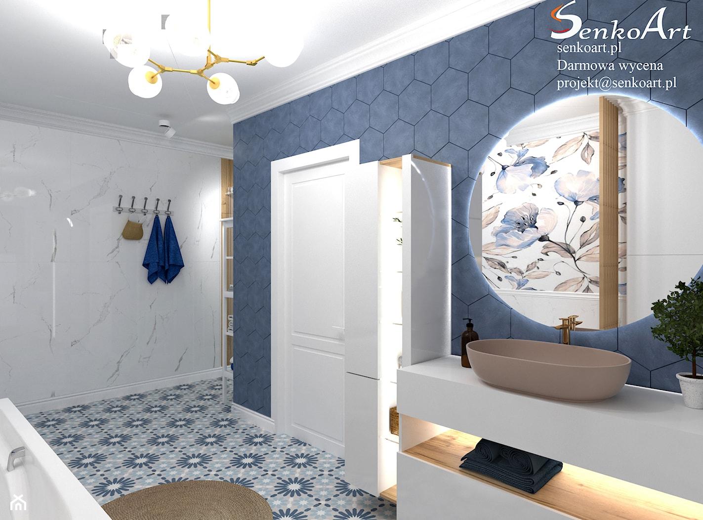 Projekt Łazienki - zdjęcie od Senkoart Design - Homebook