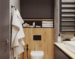 Projekt łazienki w domu - zdjęcie od Senkoart Design - Homebook