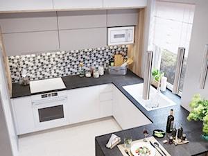 Projekt Mieszkania #1 - Styl Nowoczesny