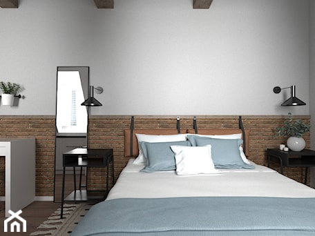 Aranżacje wnętrz - Wnętrza publiczne: Apartament Jęczmienna - ceglasty - Zen Home. Przeglądaj, dodawaj i zapisuj najlepsze zdjęcia, pomysły i inspiracje designerskie. W bazie mamy już prawie milion fotografii!