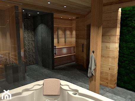 Aranżacje wnętrz - Wnętrza publiczne: Obiekt SPA w lesie - Zen Home. Przeglądaj, dodawaj i zapisuj najlepsze zdjęcia, pomysły i inspiracje designerskie. W bazie mamy już prawie milion fotografii!