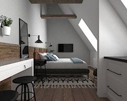 Apartament Jęczmienna - ceglasty - zdjęcie od Zen Home - Homebook