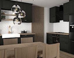 Ciemna+kuchnia+w+stylu+klasycznym+-+zdj%C4%99cie+od+Zen+Home
