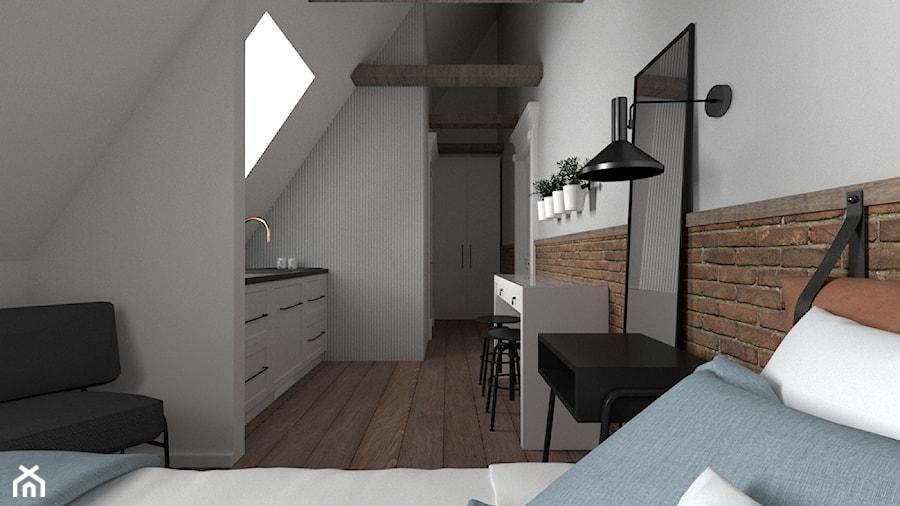 Apartament Jęczmienna - ceglasty - zdjęcie od Zen Home